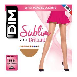 DIM Collant Sublim Voile Brillant T2 Gazelle - Le Collant