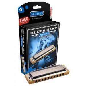 Hohner MS BLUES HARP 10 TROUS D RE