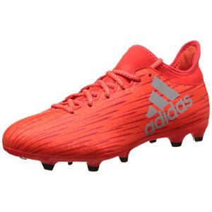 Adidas X 16.3 FG - Chaussures de Football pour Homme, Rouge, Taille: 45 1/3