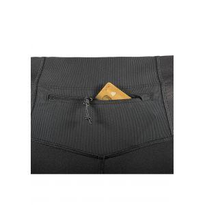 Salomon Collant de Compression pour Course à pied, Pour Homme, AGILE TIGHT, Jersey, Noir, Taille: 2XL, L40117400