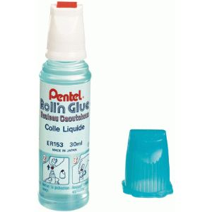 Pentel Flacon de colle Roll'N Glue 30 ml