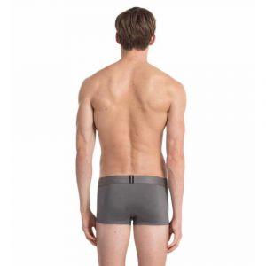 Calvin Klein Vêtements intérieurs Customized Stretch Low Rise Trunk - Grey Sky - M