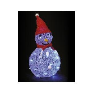 Bonhomme de neige lumineux LED Glaçon