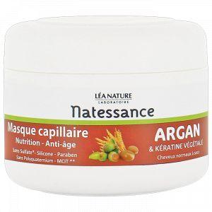 Natessance Masque capillaire nutrition argan