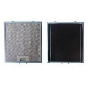 Sauter 97625 - Filtre métal anti graisse (à l'unité) + charbon 303 x 278 mm pour hotte