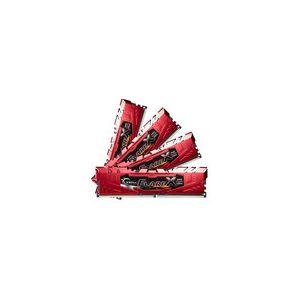 G.Skill F4-2400C15Q-64GFXR - Flare X Series Rouge 64 Go (4x 16 Go) DDR4 2400 MHz CL15