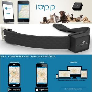 Eyenimal IOPP Tracker GPS pour Chien/Chat