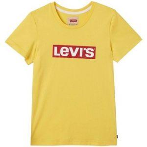 Levi's T-shirt enfant SS TEE LEVI jaune - Taille 8 ans,10 ans,12 ans,14 ans,16 ans