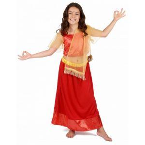 Déguisement Princesse Danseuse Bollywood Fille 5 6 ans (S)