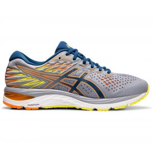 Asics Chaussures Cumulus 21 gel gris run Gris - Taille 44,45,42 1/2,43 1/2,44 1/2