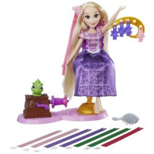 Hasbro Poupée Disney Princesses : Salon Ruban Royal de Raiponce