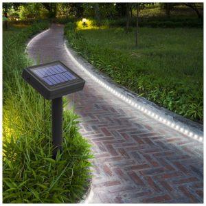 Xanlite Balise strip LED solaire - 3m blanc
