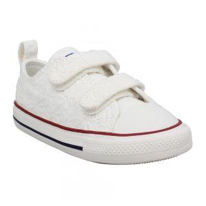 Converse Chaussures casual en toile Little Miss Chucks basses Blanc - Taille 25