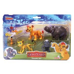 Simba Toys Coffret 5 figurines articulées La Garde du Roi Lion
