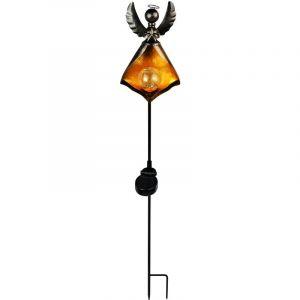 Globo Lampe solaire LED, design d'ange avec boule de verre