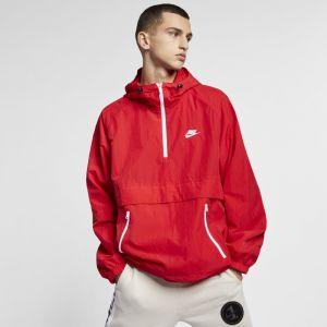 Nike Anorak tissé à capuche Sportswear pour Homme - Rouge - Couleur Rouge - Taille M