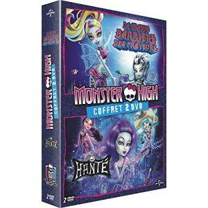 Coffret Monster High 2 films : La grande barrière des frayeurs + Hanté