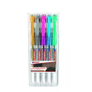 Edding 2185 - Roller Gel 5 couleurs