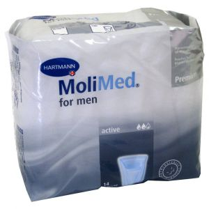 Hartmann Coquille pour hommes Molimed for Men Active