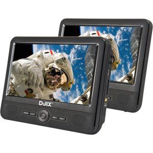 """D-jix PVS706-50SM - Lecteur DVD portable 7""""double"""