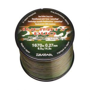 Daiwa FIL INFINITY DUO CAMO 0.27