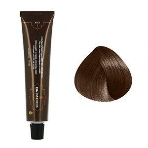 Kin Cosmetics Coloration permanente sans ammoniaque aux 5 huiles 7.50 : Blond Moyen Brun Chocolat Sans ammoniaque, Crème 60ml