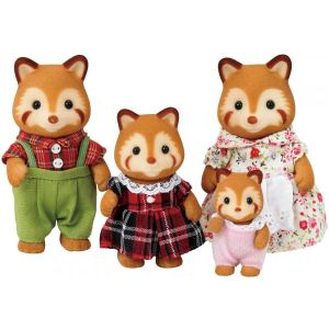 Epoch Sylvanian Families 3152 - Famille panda rouge
