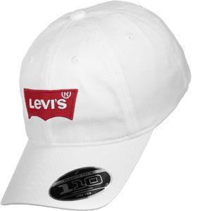 Levi's Big Batwing Flex Fit casquette blanc