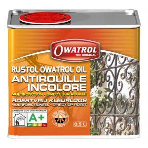 Owatrol Rustol Antirouille multifonction incolore bidon de 0,5L