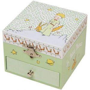 Trousselier Boîte à musique : Cube phosphorescent Le Petit Prince