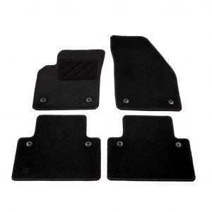VidaXL Ensemble de tapis de voiture 4 pcs pour Volvo S40/V50/C70