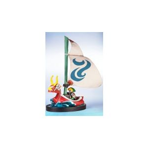 Figurine 'Zelda - The Windwaker' : Link on the King of Red Lions