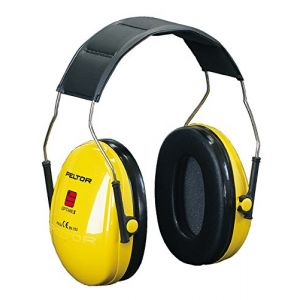 3M Casques anti bruit optime1 jaune