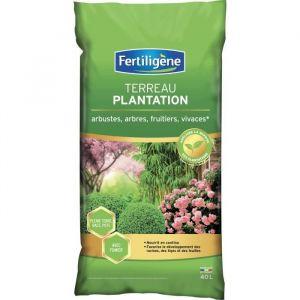 Fertiligene Terreau Plantation Arbustes à Fleurs, Conifères - 40 L