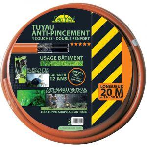 Cap Vert Tuyau tricoté 4 couches renforcé NP - Longueur 20 m - Diamètre 19 mm