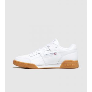 Reebok Workout Plus, Chaussures de Fitness Homme, Blanc (White/Carbon/Classic Red Royal/Gu 000), 45.5 EU
