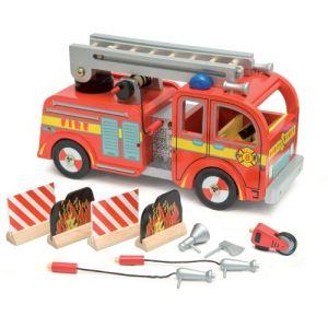 Le Toy Van Le camion de Pompiers