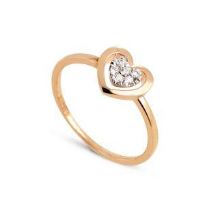 Rêve de diamants 3612030146817 - Bague en or ornée de diamants