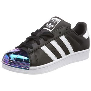 Adidas Superstar Metal Toe Noire Et Iridescent Baskets/Tennis Femme