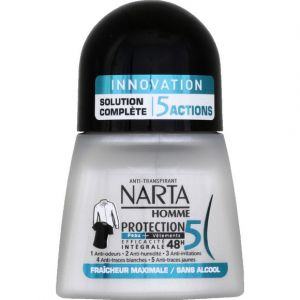 Narta Homme Protection 5 Déodorant bille