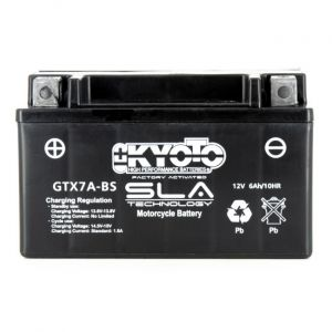 Kyoto Batterie Moto Ytx7a-bs