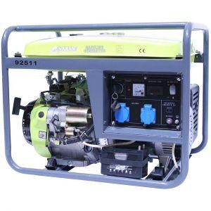 Varan Motors 92511 Groupe électrogène Essence 6.0 kW 2 x 230V 1 x 12VDC Motors
