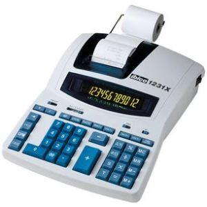 Ibico 1231X - Calculatrice imprimante de bureau semi professionnelle