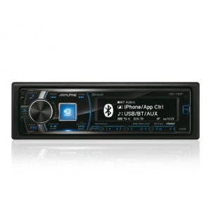 Alpine CDE-178BT - Autoradio CD/MP3/USB/iPod/iPhone (4 x 50 Watts