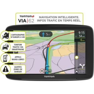 TomTom Via 62 Europe Traffic 23 pays - GPS auto