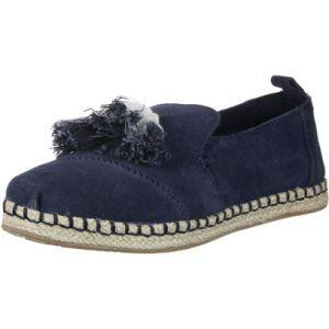 Toms Deconstructed Alpargata Suede W chaussures bleu 36 EU