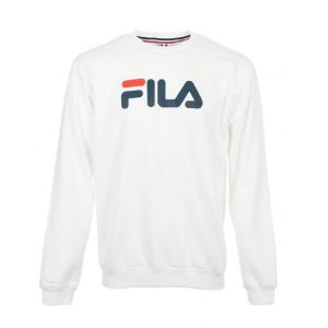 FILA Sweat-shirt Pure Crew Sweat blanc - Taille EU M