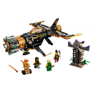 Lego NINJAGO 71736 Le jet multi-missiles Boulder Blaster