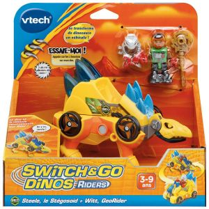 Vtech Switch & Go Dinos Riders : Stégosoïd