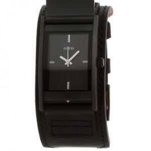 Guess W0358G1 - Montre pour homme avec bracelet en cuir